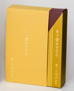 紙箱:食品・菓子関係 スリーブ 特殊紙+コートボール合紙 1-1