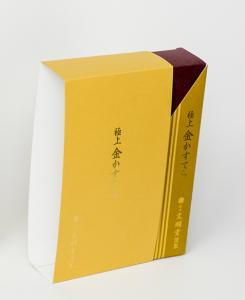 紙箱:食品・菓子関係 スリーブ 特殊紙+コートボール合紙 1-2