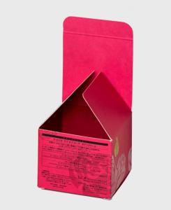 紙箱:化粧品・美容関係 サック箱 非木材紙 1-2