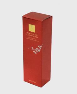 紙箱:化粧品・美容関係 ハンドロックボトム メタル紙 1-1