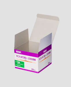 紙箱:医療機器・医薬部外品関係 オートマチックボトム コートボール紙・ノーコートボール紙 1-2