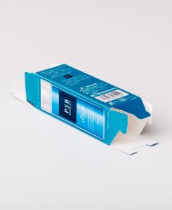 紙箱:日用雑貨・動物用医薬品関係 サック箱 パール紙 1-3