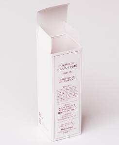 紙箱:化粧品・美容関係 オートマチックボトム 高級白板紙 1-2