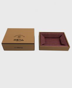 紙箱:食品・菓子関係 組立箱 コートボール紙・ノーコートボール紙 1-2