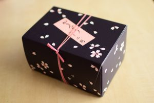包装紙(和紙)の質感を紙箱・化粧箱で再現