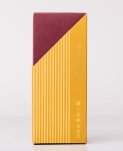 紙箱:食品・菓子関係 サック箱 特殊紙+コートボール合紙 1-1