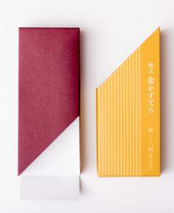 紙箱:食品・菓子関係 サック箱 特殊紙+コートボール合紙 1-3