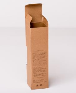 紙箱:化粧品・美容関係 オートマチックボトム 特殊白板紙 1-2