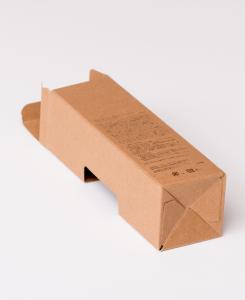 紙箱:化粧品・美容関係 オートマチックボトム 特殊白板紙 1-3