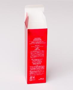 紙箱:化粧品・美容関係 ハンドロックボトム メタル紙 1-2